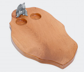 Доска для сыра (с медведем)