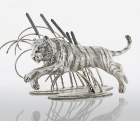 Салфетница  Тигр в камышах
