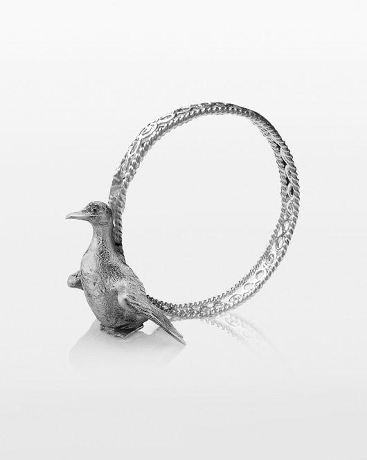 Кольцо ажурное для салфетки с уточкой