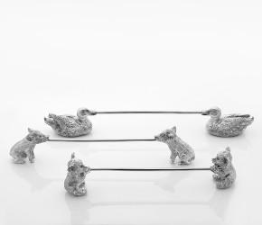 Подставки под столовые приборы: уточки, кабанчики, медвежата