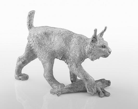 Рысь с зайцем